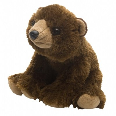 "Wild Republic CK-Mini Brown Bear 8"" Plush - 1"