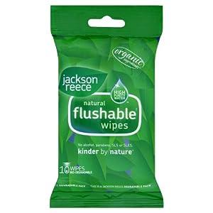 Jackson Reece Lot de 24packs de 10lingettes biodégradables (240 lingettes)