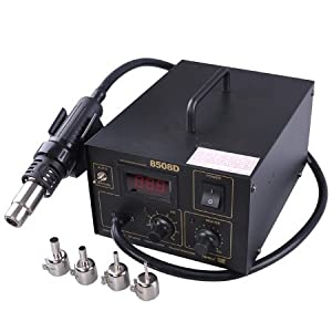 Lead Free Hot Air Soldering Gun SMT Rework Solder Station
