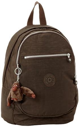 (历史最低) 猴子包 Kipling 比利时吉普林 Challenger 防水双肩背包 咖啡色  $49.99