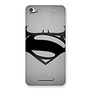 Delighted Grey Vs Back Case Cover for Micromax Hue 2