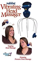Nukkles Vibrating Head Massager and Pressure Point Massager