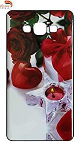 Vcare Shoppe Printed Back case cover for Samsung Galaxy A5