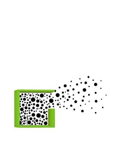 Matte Maison Mensola A Muro Bubbles Verde