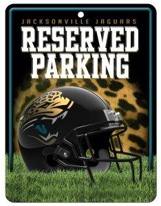 jacksonville-jaguars-metal-aparcamiento