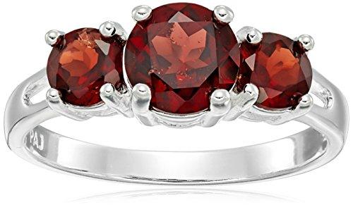 sterling-silver-3-stone-garnet-ring-size-6