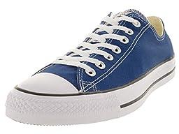 Converse Unisex Chuck Taylor All Star Ox Roadtrip Roadtrip Blue Basketball Shoe 8 Men US / 10 Women US