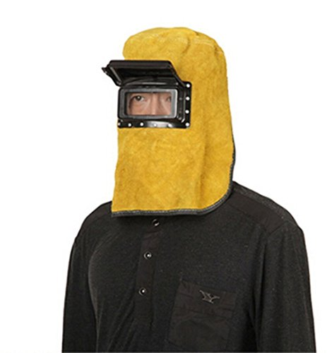 car-auto-welding-hood-helmet-cowhide-split-leather-comfortable-welding-mask-yellow