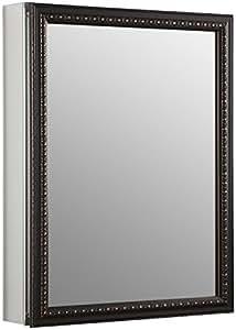 Kohler K-2967-BR1 Aluminum Cabinet with Oil-Rubbed Bronze Framed Mirror Door, Oil-Rubbed Bronze