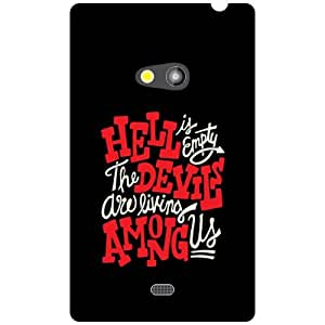 Printland Hard To Believe Phone Cover For Nokia Lumia 625