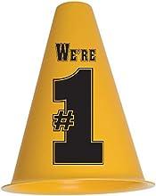 Gold and Black We39re Number 1 Cheerphones