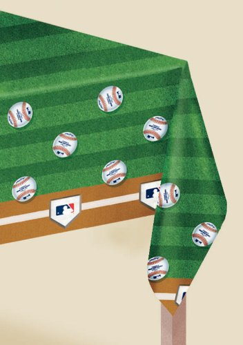 Major League Baseball Plastic Tablecover Party Accessory