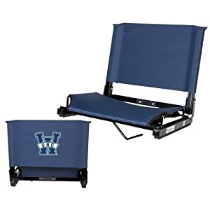 UNC Wilmington Stadium Chair Navy