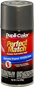 Dupli-Color BTY1557 Dark Gray Metallic Toyota Exact-Match Automotive Paint - 8 oz. Aerosol