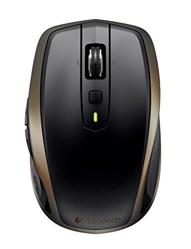 Logitech MX Anywhere 2 Mouse Wireless per Windows e Mac con Bluetooth e Unifying, Nero