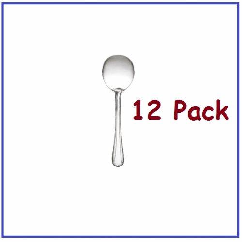 1 Dozen Bouillon Spoons Dominion Flatware With Bright Finish! *Great Quality*