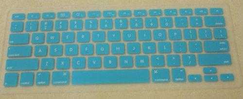 Imagen de SKY BLUE teclado de silicona para cubrir la piel Macbook 13