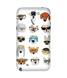 Spectacles Cool Samsung Galaxy Note 2 Case