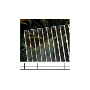 "Polycarbonate Panel, 8mm Triple Wall - 72"" wide x 8' long"