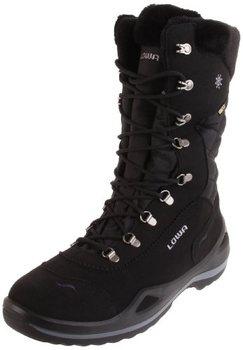 Lowa Women's Alagna GTX Snow Boot,Black,5.5 M US