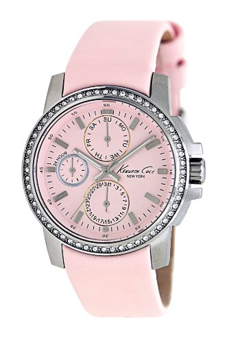 Kenneth Cole New York Women's KC2696 Classic Multifunction with Pink Dial Watch