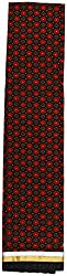 HARRA Women's Cotton Unstitched Dress Material(KBCLAARA-6029 , Black & Red)