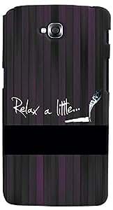 PrintVisa 3D-LGGPROLITE-D8067 Quotes Attitude Relax Case Cover for LG G Pro Lite