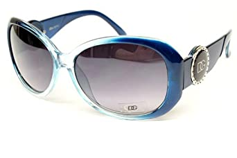 Dg Eyewear Vintage Retro Fashion Sunglasses Womens Blue D840