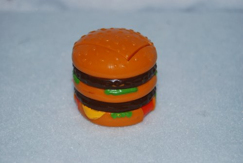 Vintage 1990 McDonalds Happy Meal Transformer Food Toy - Big Mac