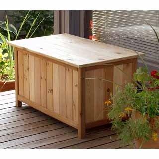 "Storage Box (Cedar) (19""H x 35""W x 20 1/2""D)"