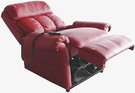 Poltrona Relax Comodona - Vibro-Massaggio - Microfibra Blu - Versione IVA agevolata (legge 104/1992)