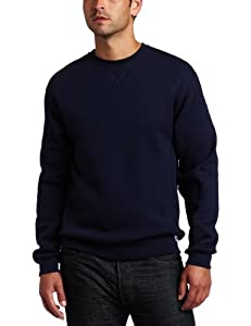 Russell Athletic Men's Dri Power Crewneck Sweatshirt, Navy, X-Large
