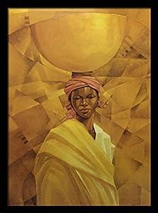 amazoncom sahel woman lady with basket seth