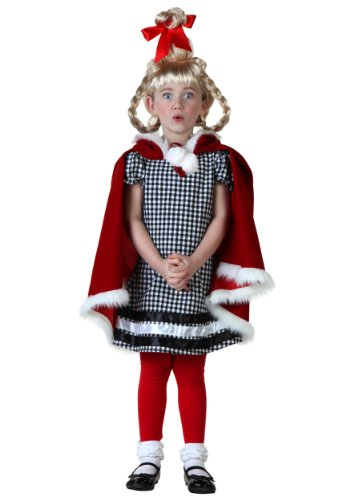 Little Girls' Christmas Girl Costume