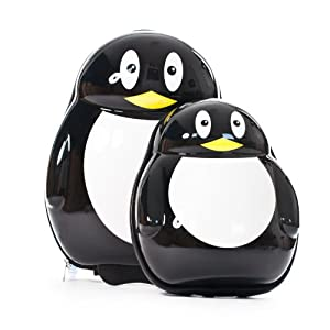 Skykidz Penguin - Kids Carry-On Luggage Set