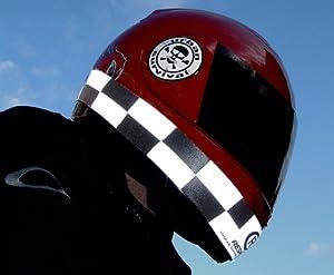 Respro Band casco HI-VIZ - a cuadros [RNS06P]