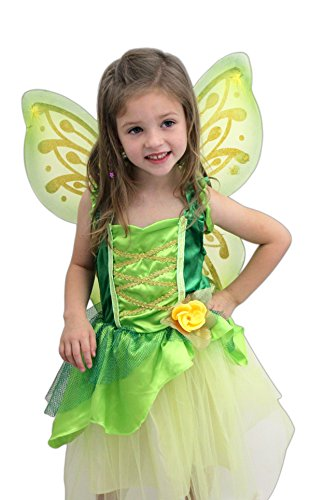 [Great Pretenders Tinkerbelle Dress with Wings] (Wood Nymph Costume)
