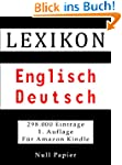 Lexikon Englisch Deutsch - 298.000 �b...