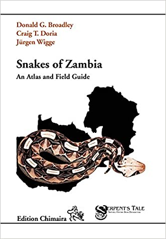 Snakes of Zambia, An Atlas and Field Guide