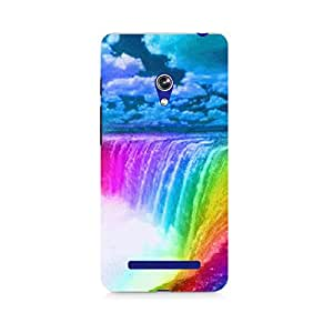 Mobicture Pattern Premium Designer Mobile Back Case Cover For Asus Zenfone 5