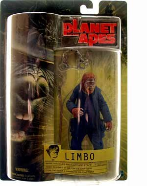 "7"" Limbo Action Figure with Shackles and Capture Staff! - Planet of the Apes - 1"