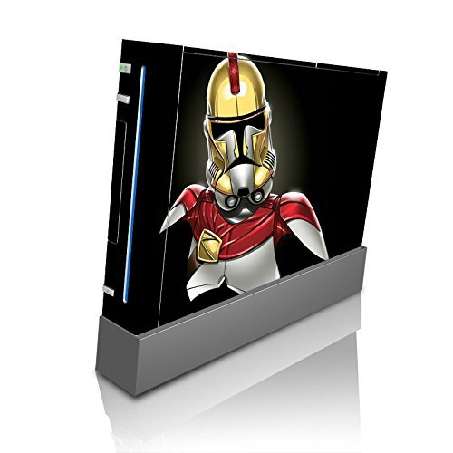 king-leonidas-stormtrooper-collab-art-wii-console-vinyl-decal-sticker-skin-by-mwcustoms-by-mwcustoms