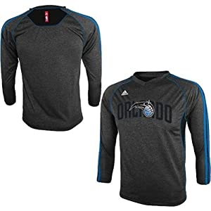 adidas Orlando Magic Youth (Sizes 8-20) On-Court Long Sleeve Shooting Shirt by NBA Store