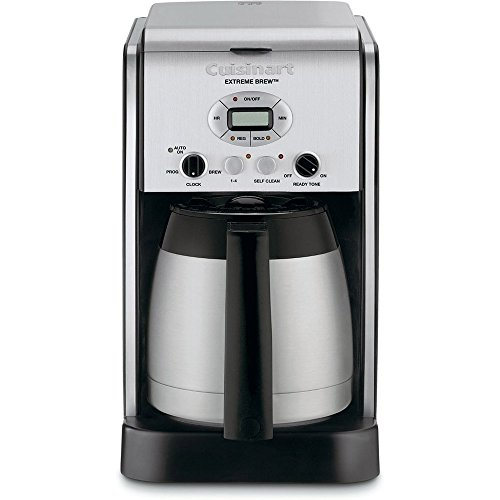 Cuisinart DCC-2750FR Extreme Brew 10 Cup Thermal Programmable Coffeemaker (Certified Refurbished), Stainless Steel (Cuisinart Carafe Insulated compare prices)