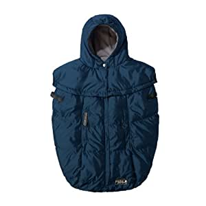 buy 7 a m enfant pookie poncho baby bunting bag metallic prussian blue online at low prices in. Black Bedroom Furniture Sets. Home Design Ideas