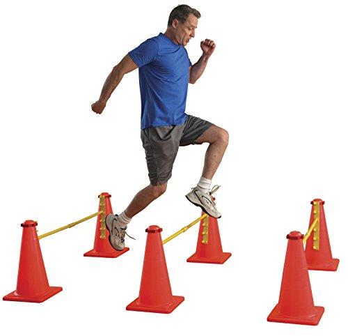 Sportime 1478706 Agility Cone Set, 6