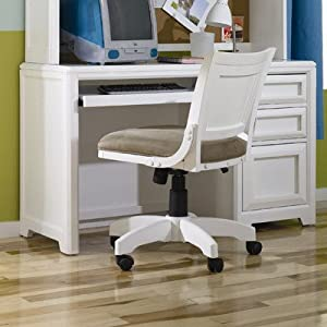 Elite Reflections Child's Desk with Keyboard Tray from Lea Industries