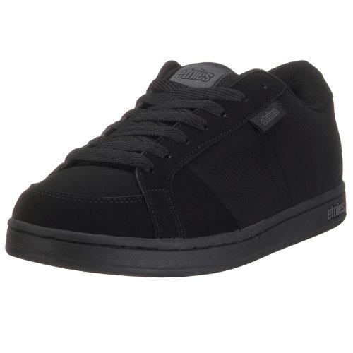 Etnies Men's Kingpin Skateboarding Shoe Black/Black 4101000091 14 UK