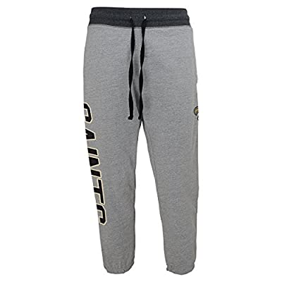 NFL Juniors 0-17 New Orleans Saints Rolled Up Sweat Pant, Heather Grey, Medium (7/9)