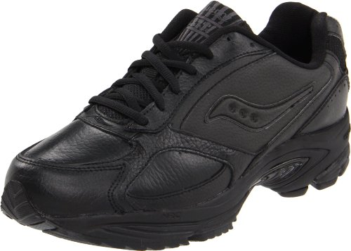 Saucony Men's Grid Omni Walking Shoe,Black,10.5 M